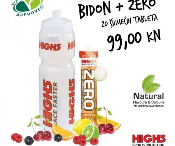 HIGH5 ZERO TUBA 20 TABLETA + BIDON